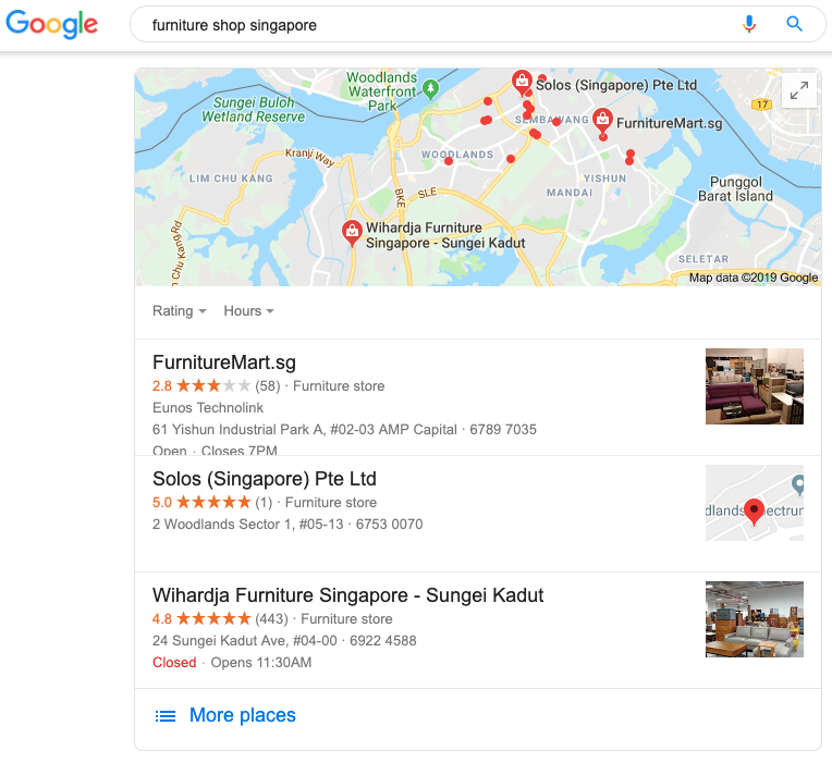 Example of Location Data Markup