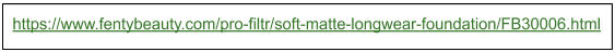 Example of a good URL structure