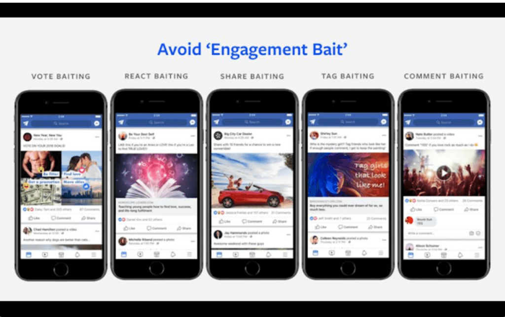 Engagement bait photo from Forbes